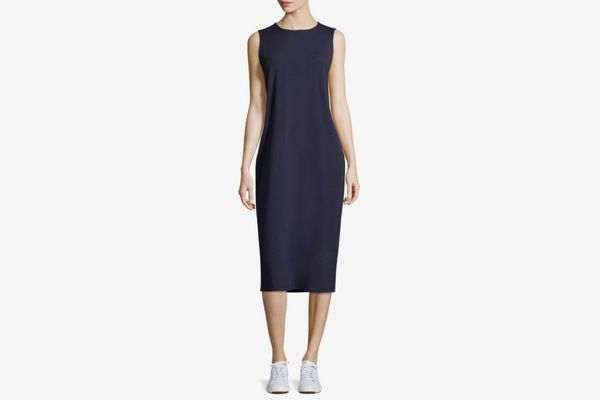 Eileen Fisher Sleeveless Midi Dress