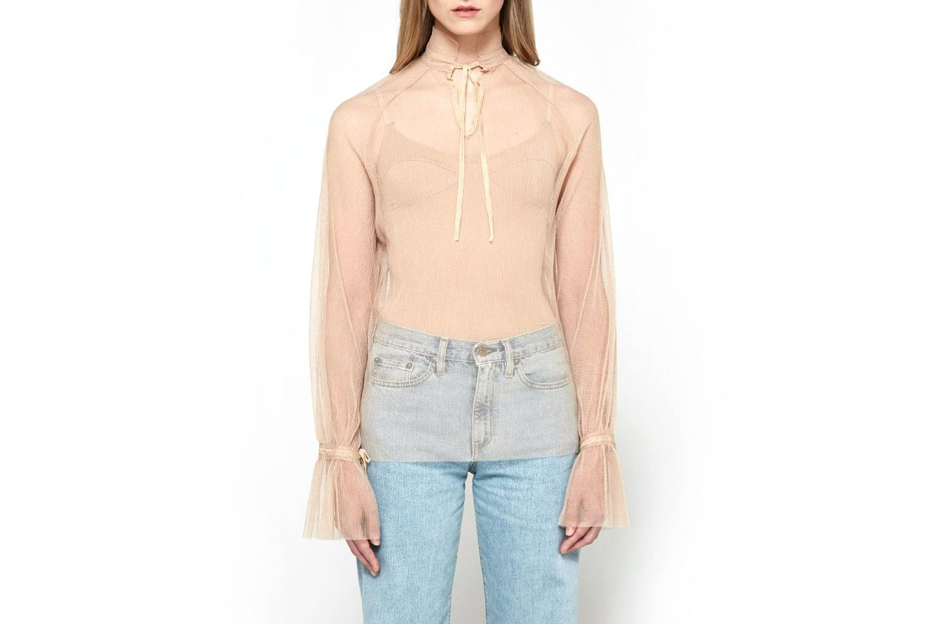 Farrow Sheer Blouse