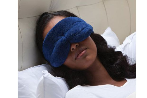 Brookstone NapForm Eye Mask with BioSense Memory Foam