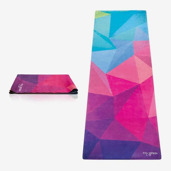 Yoga Design Lab THE TRAVEL YOGA MAT 2-in-1 Mat+Towel with Carrying Strap
