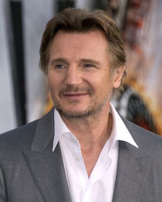 Actor Liam Neeson arrives for the premiere of