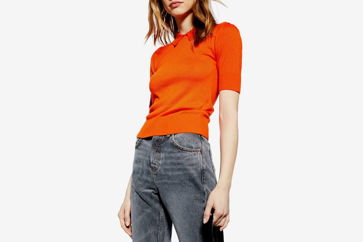 Topshop Polo Neck Sweater