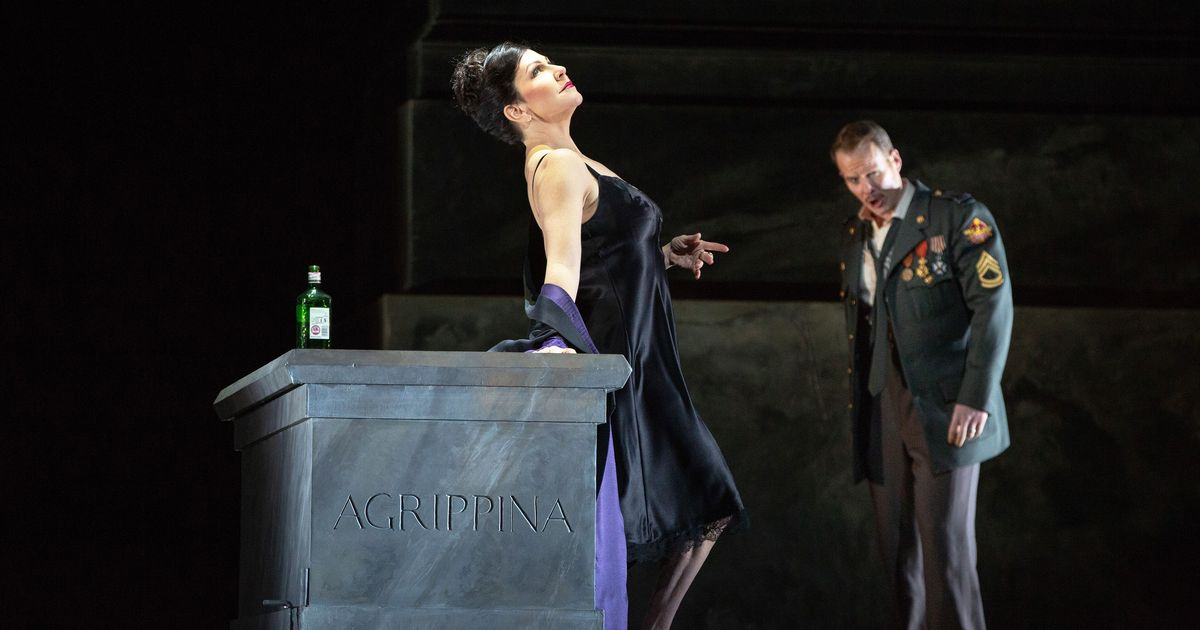 Opera Review: Great Voices and Coked-Up Staging in the Met's Agrippina