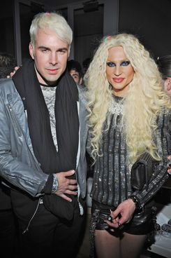NEW YORK, NY - FEBRUARY 15: David Blond and Phillipe Blond attend the The Blonds Fall 2012 fashion show after party during Mercedes-Benz Fashion Week at Yotel on February 15, 2012 in New York City. (Photo by Jesse Lirola/Getty Images)