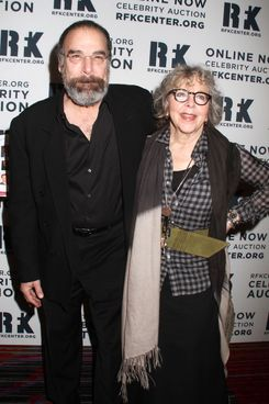 Actor MANDY PATINKIN and his wife KATHRYN GRODY attend the Robert F. Kennedy Center for Justice and Human Rights 2012 Ripple of Hope Awards Dinner held at the Marriot Marquis Hotel.