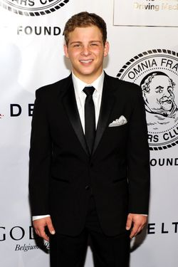NEW YORK, NY - JUNE 12:  Actor Jonathan Lipnicki attends The Friars Club and Friars Foundation Honor of Tom Cruise at The Waldorf=Astoria on June 12, 2012 in New York City.  (Photo by Larry Busacca/Getty Images)