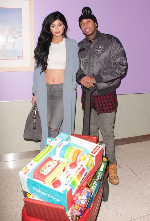 LA Gear Presents Teen Impact Holiday Party Hosted By Tyga At Childrens Hospital LA