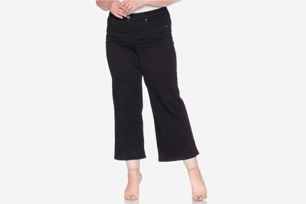 SLINK Jeans Wide-Leg Crop Jeans