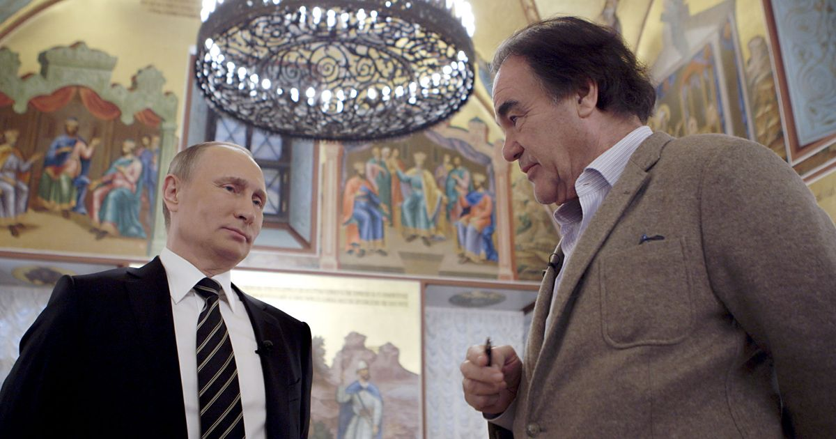 Oliver Stone Wants to Change the Way You Think About Putin
