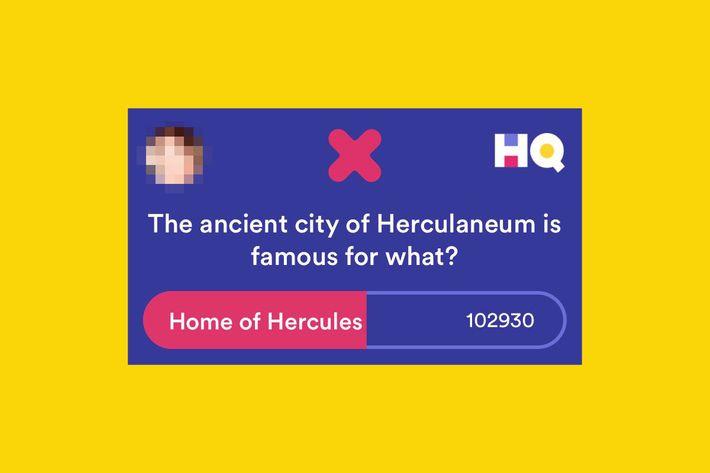 Herculaneum is, in fact, not the town where Hercules was born. Photo:  ClaudiaRahmanD via Twitter