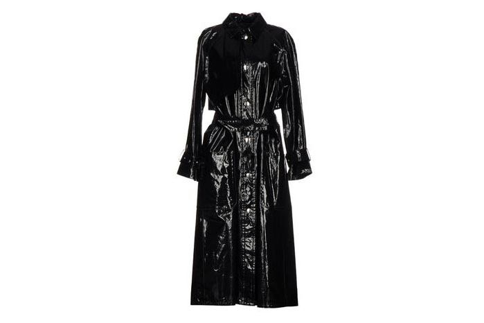 7d56eb8b667 Fall 2017 Trend  Vinyl and Patent The Matrix Trench Coats