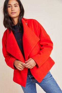 Anthropologie Sascha Asymmetrical Jacket