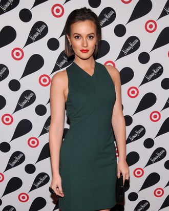NEW YORK, NY - NOVEMBER 28: Actress Leighton Meester attends the Target + Neiman Marcus Holiday Collection launch event on November 28, 2012 in New York City. (Photo by Jamie McCarthy/Getty Images for Target)