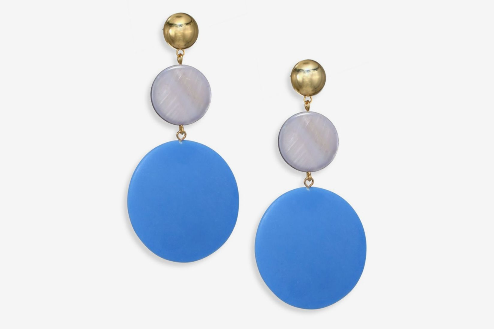 Elizabeth and James Carter Mother-Of-Pearl Drop Earrings