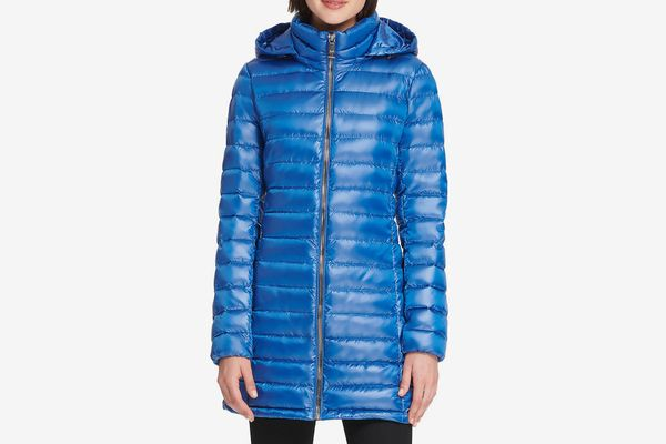 Donna Karan Packable Down Jacket
