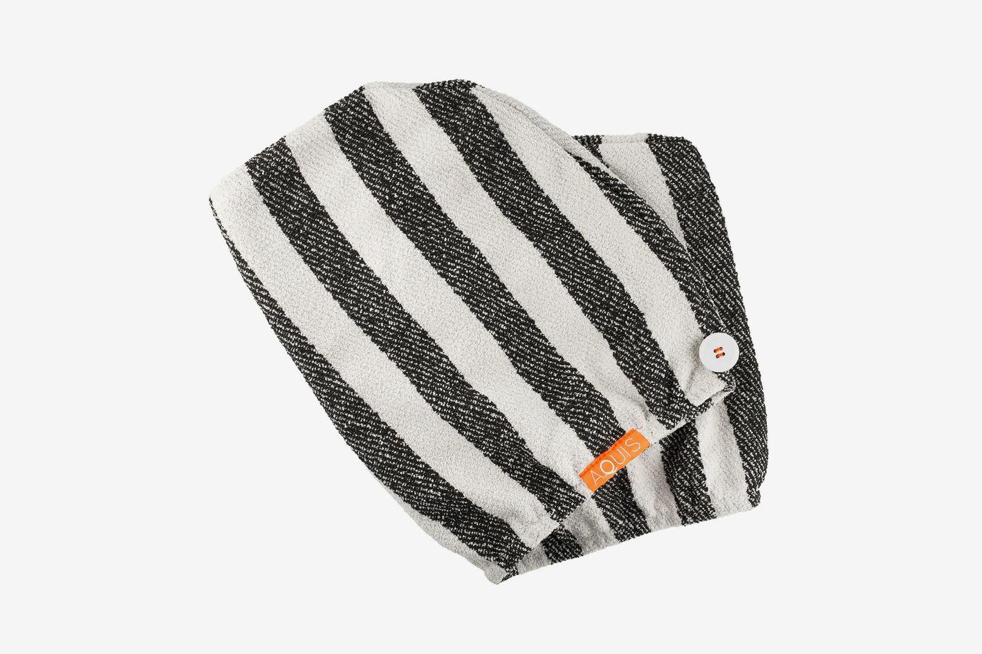 Aquis + Sephora Striped Lisse Luxe Hair Turban