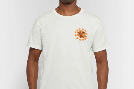 Mollusk Soleil Printed Cotton-Jersey T-Shirt