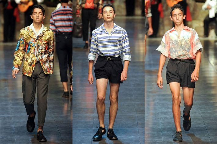 Dolce & Gabbana's Sicilian boys.