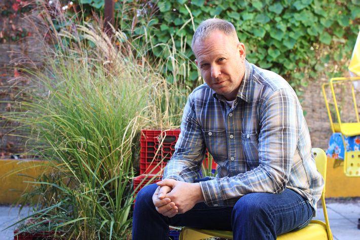 Ricker, outside at Pok Pok Ny.
