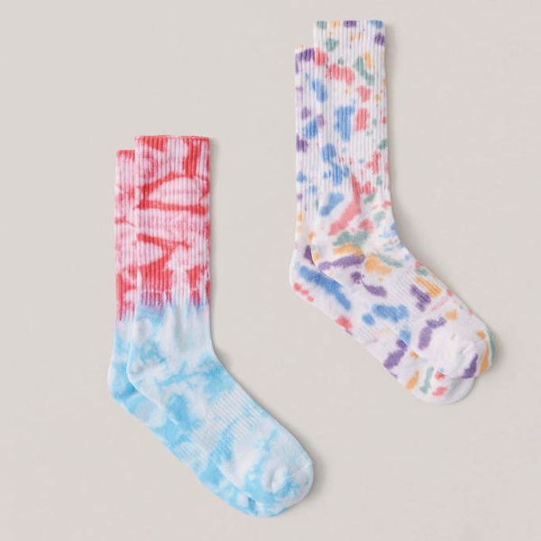 A&F x The Trevor Project Tie-Dye Athletic Socks