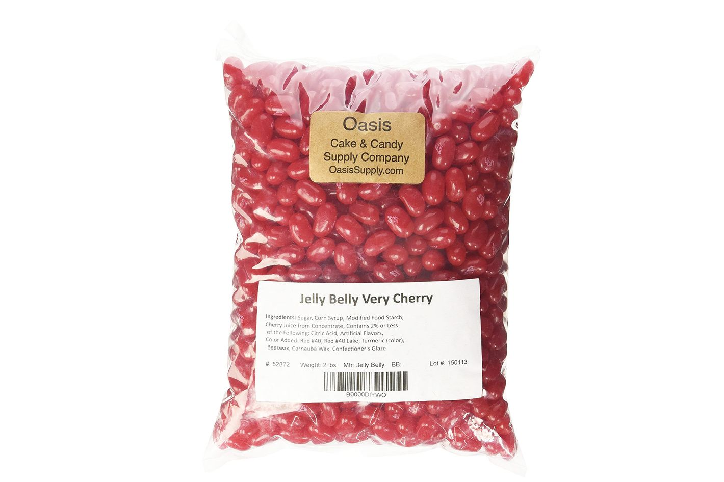Two Pounds of Jelly Belly Beans, Very Cherry