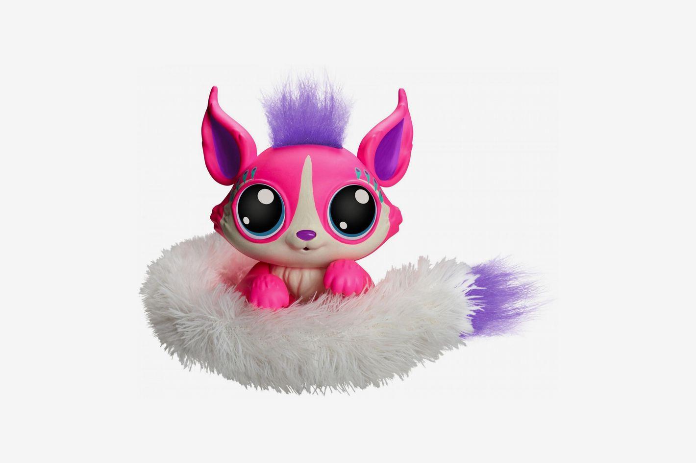 Lil' Gleemerz Adorbrite Furry Friend, Light Up Interactive Talking Toy
