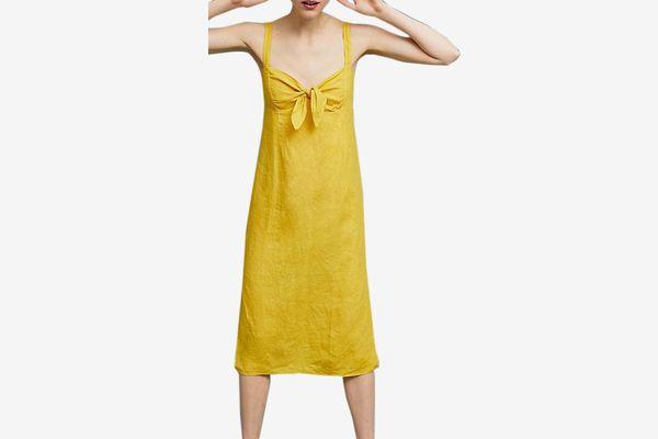 Three Dots Chetwyn Linen Dress