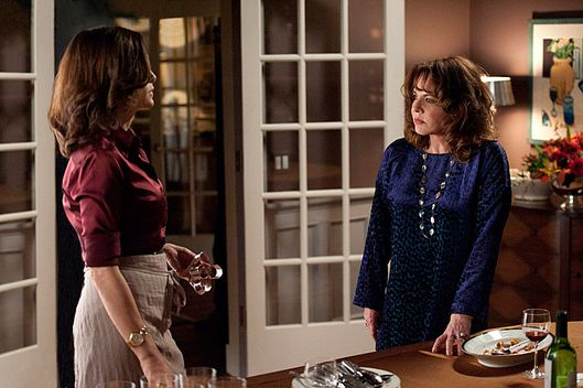 """A Defense of Marriage""--Alicia (Julianna Margulies, left) mother, Veronica (Stockard Channing, right) shows up requesting moral and legal support, on THE GOOD WIFE, Sunday Nov 25"