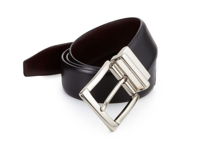 Saks Collection Reversible Leather Belt