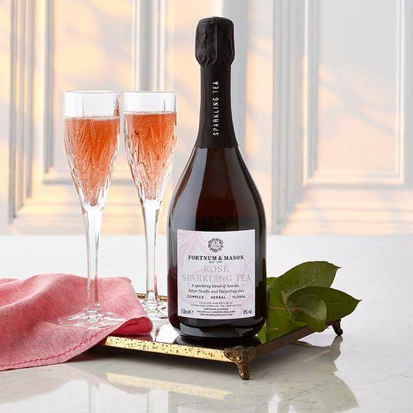 Fortnum's Rosé Sparkling Tea, 0% ABV