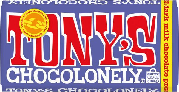 Tony's Chocolonely Dark Chocolate Pretzel Bar