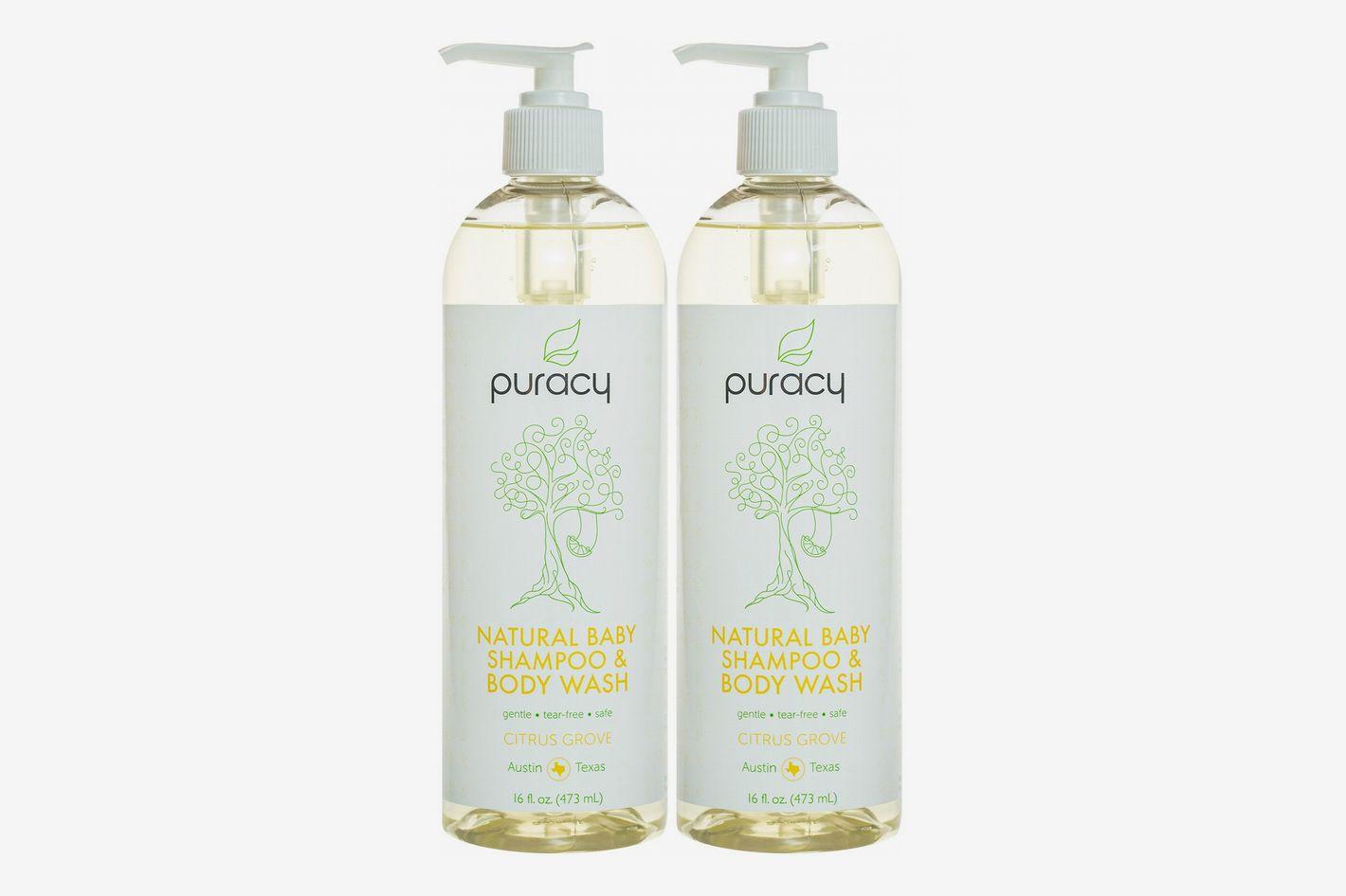Puracy Natural Baby Shampoo and Body Wash