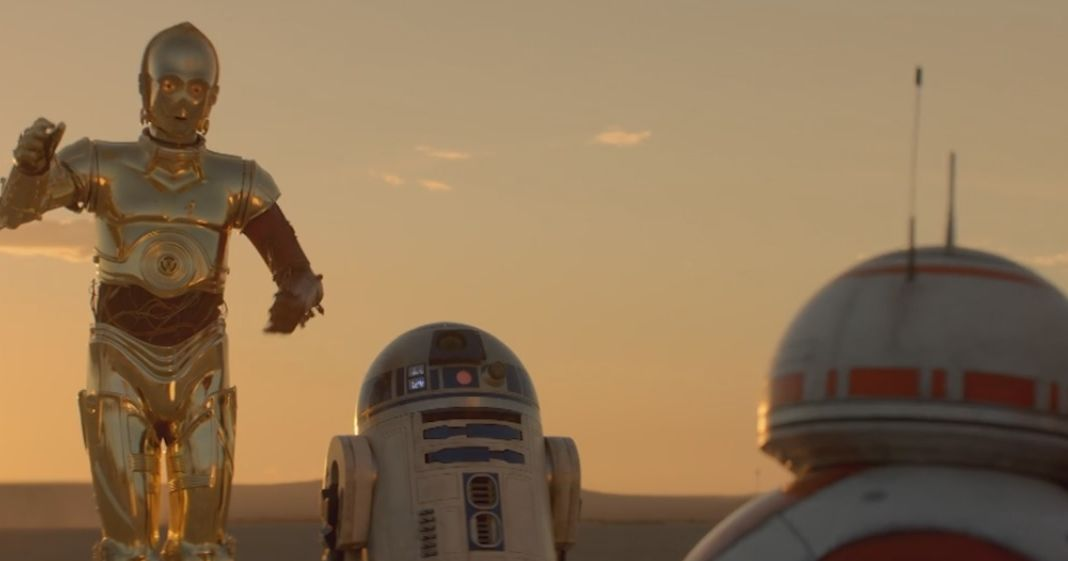 C-3PO, R2-D2, and BB-8 Are BFFs in This New Force Awakens