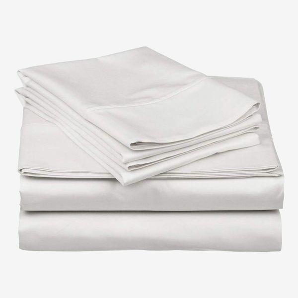 Carressa Linen 600-Thread-Count, 100 percent Egyptian-Cotton Sheet Set