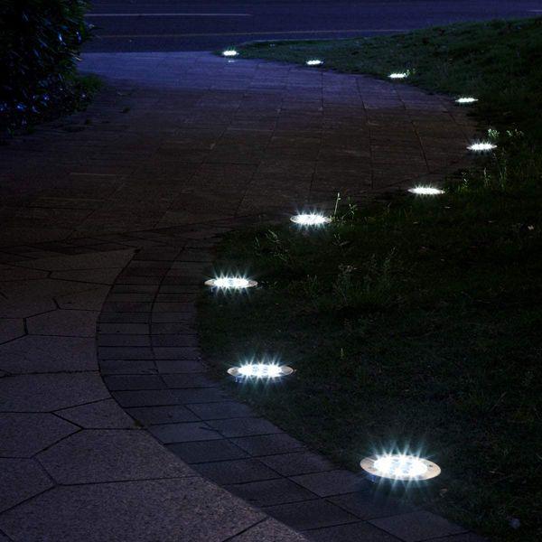 Solpex 12-Pack Solar Ground Lights