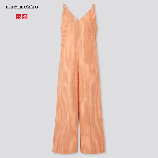 Uniqlo x Marimekko Women Sleeveless Jumpsuit