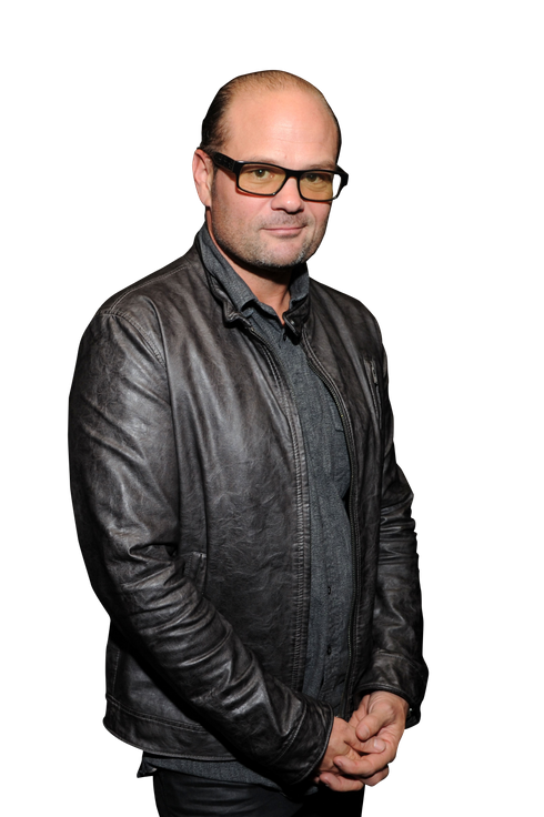 Actor Chris Bauer attends Resident Magazine's 25th Anniversary Party at Noir NYC on November 7, 2012 in New York City.