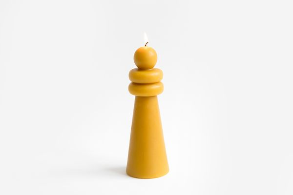 Carl Durkow Beeswax Candle