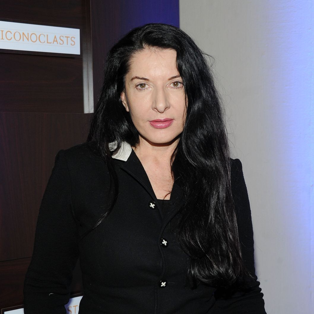 Performance artist Marina Abramovic