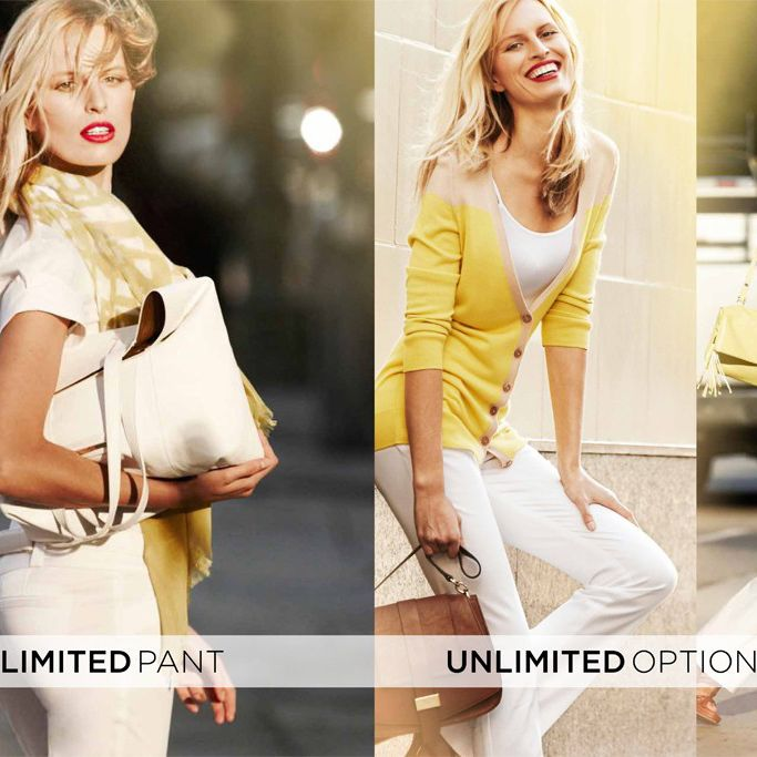 Karolina Kurkova's ads for The Limited.