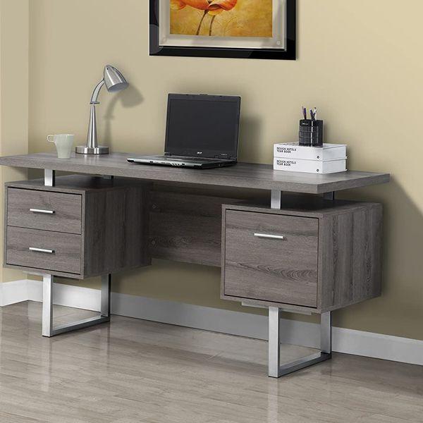 Monarch Specialties Metal Computer Desk