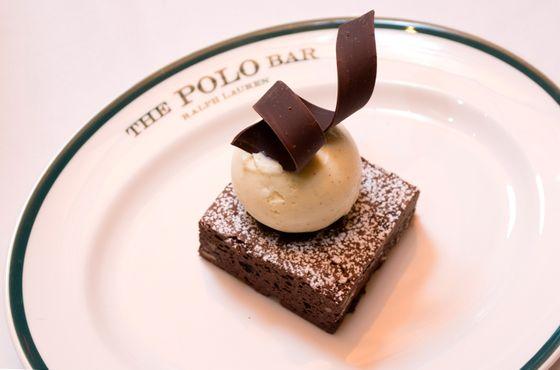The Polo Bar brownie.