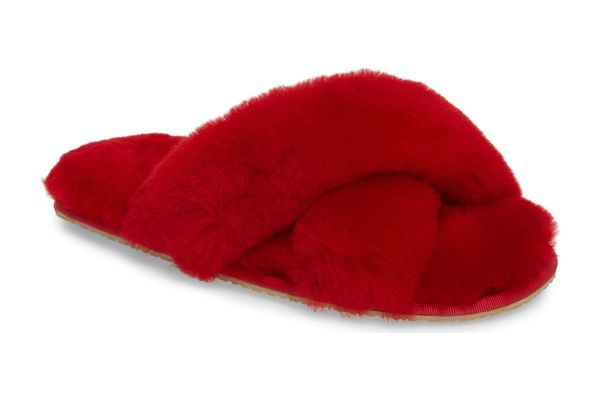 Patricia Green Mt. Hood Genuine Shearling Slipper