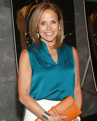 Katie Couric attends