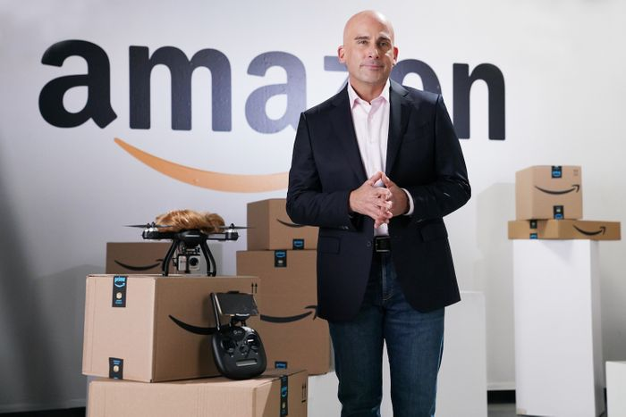 Steve Carell as Amazon CEO Jeff Bezos on Saturday Night Live.