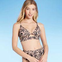 Target Women's Longline Cutout Bikini Top — Shade & Shore™