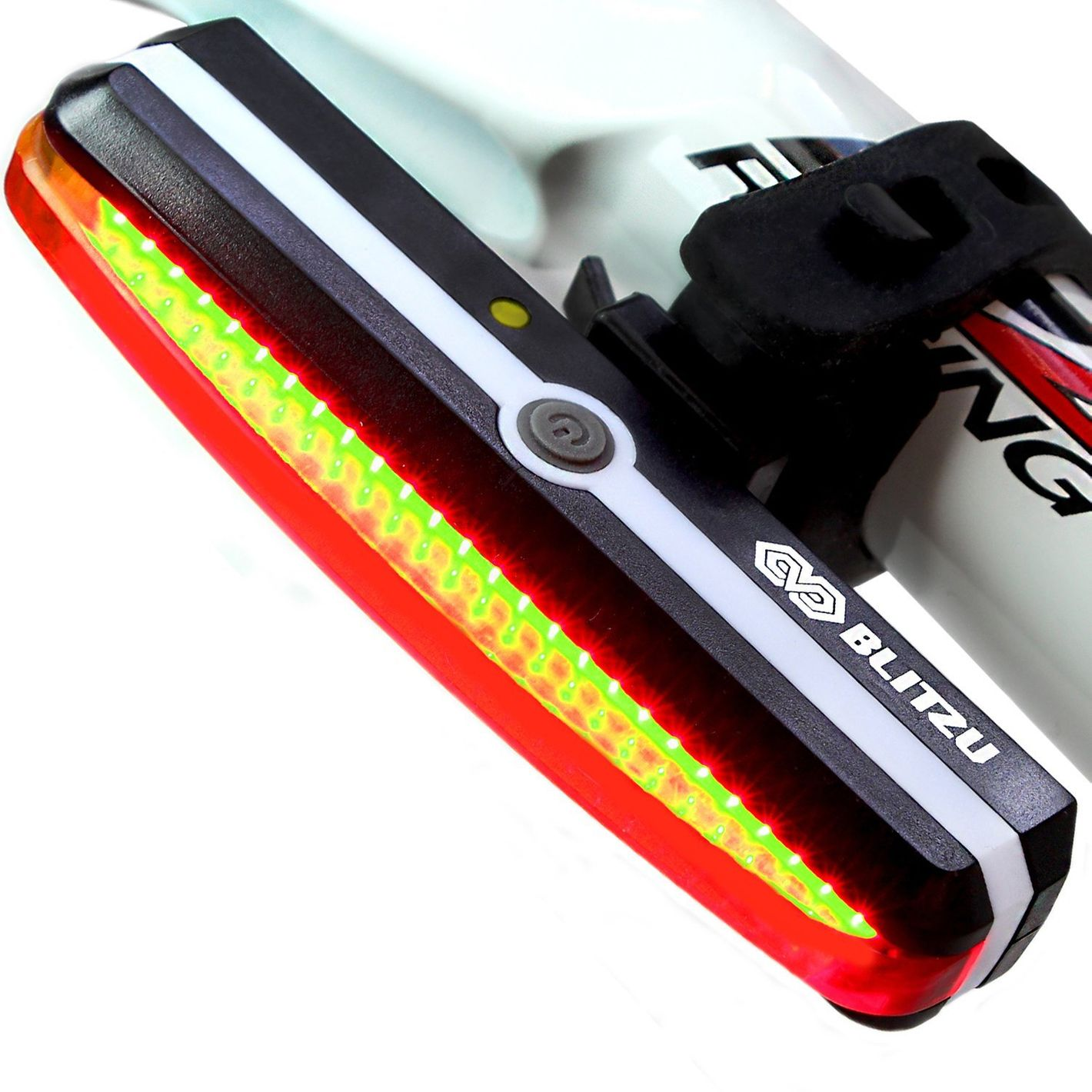 BLITZU Cyborg 168T USB Rechargeable LED Bike Tail Light