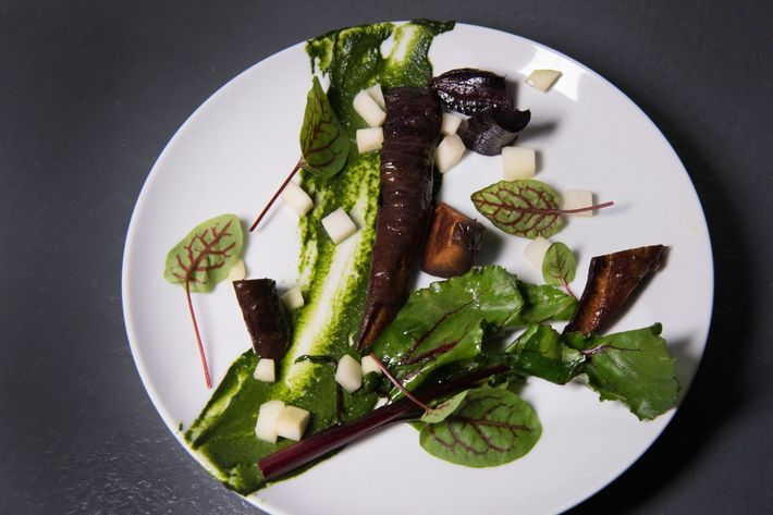 The salad's citrus vinaigrette is medicated with three milligrams of canna-oil.