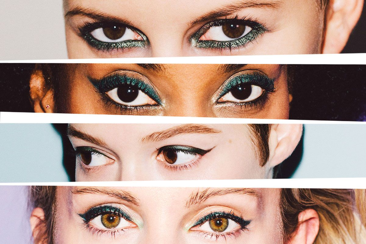 Green Eyeliner Will Totally Change Your Look