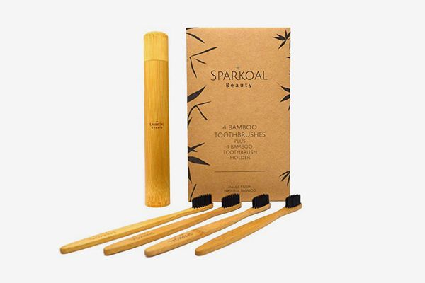 Bamboo Toothbrush With Charcoal Infused Extra Soft Bristles